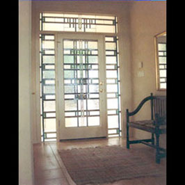 Decrative Art Glass Doors and Entryways